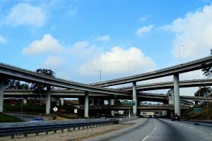 The I-710/60 interchange