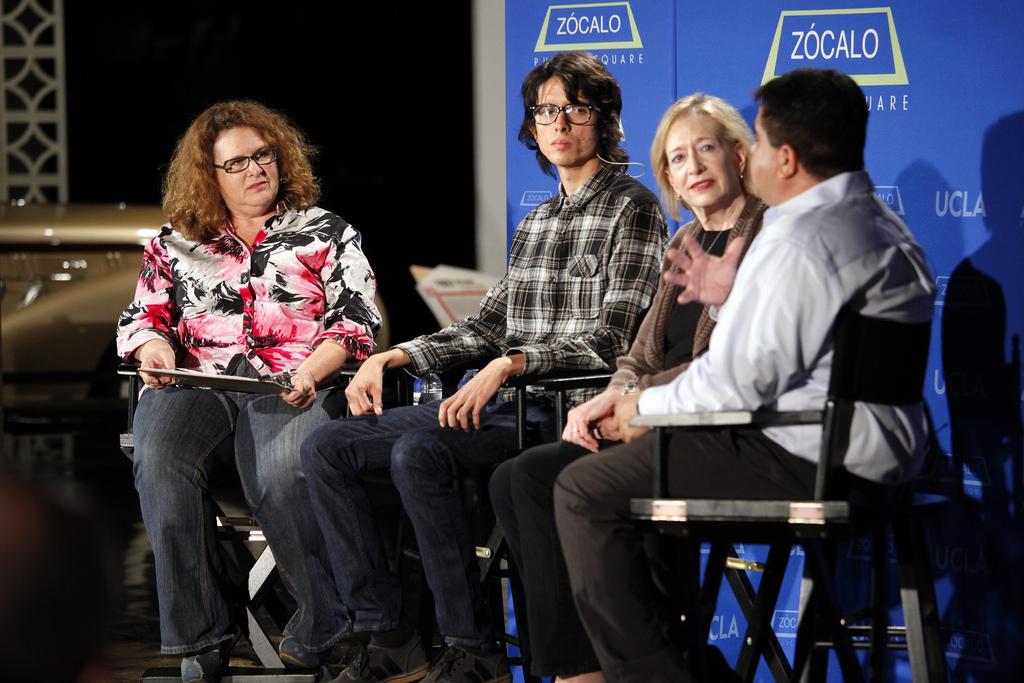 Evan Kleiman, Javier Cabral, Barbara Fairchild, Alex Ortega