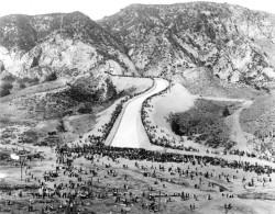 The L.A. Aqueduct opens