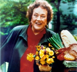 Julia Child, the author of 11 books and an award-winning host of numerous televisi..