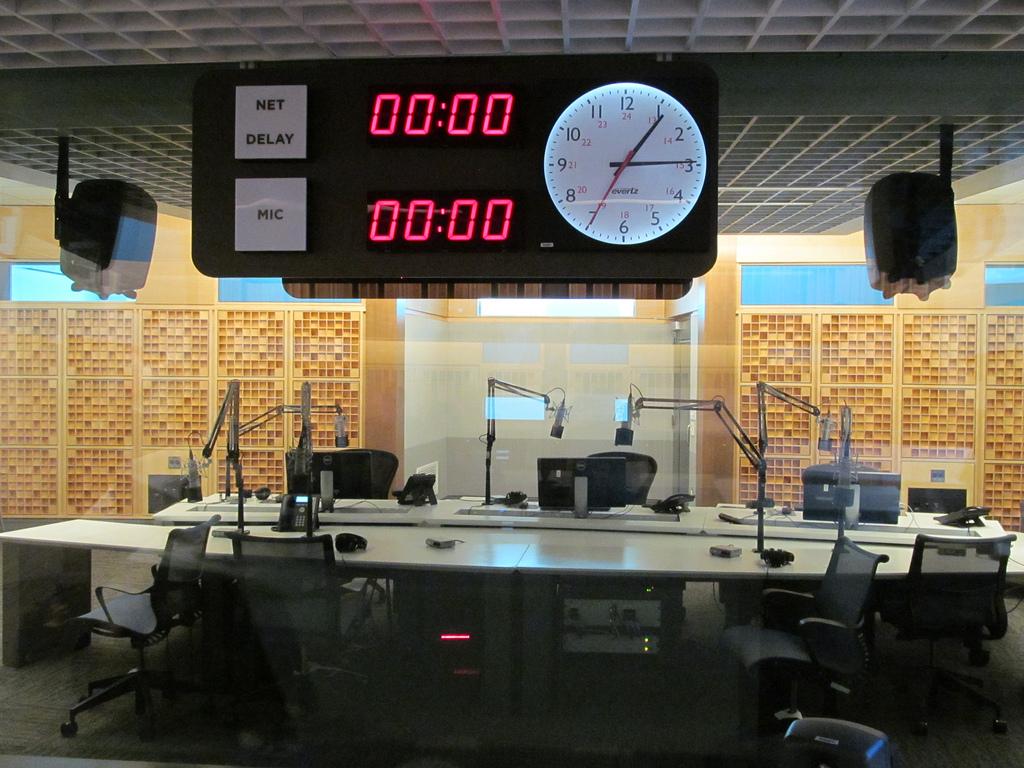 NPR studio