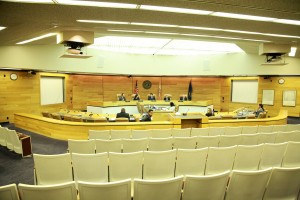 A Cerritos City Council meeting