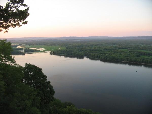 Schneider on the Mississippi