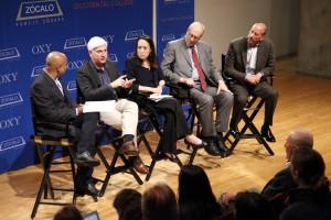 Sanjeev Khagram, Jeffrey Kightlinger, Felicia Marcus, Michael Hanemann, Steve Fleischli