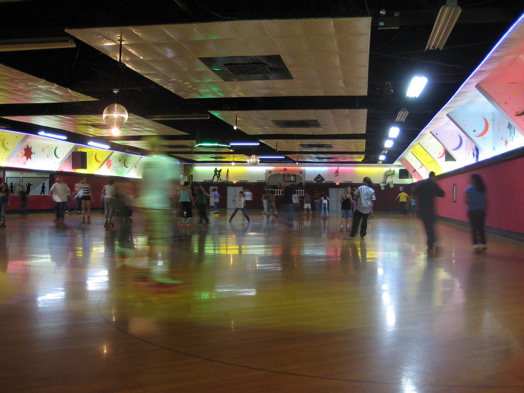 Roller skating vaughan - Every Thursday Night At A Rink In Glendale We Groove To El Debarge