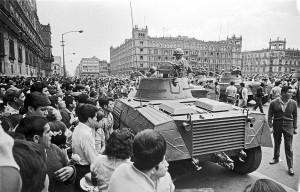1968 protest in the zocalo