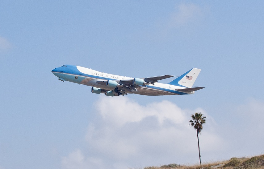 Air Force One at LAX