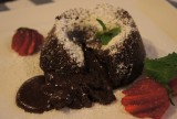 Be Grateful for Molten Chocolate Cake