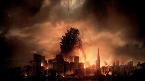 Godzilla destroys San Francisco