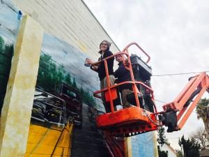 Peer Recovery Art mural