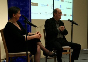 Anne Enright and Colm Toibin
