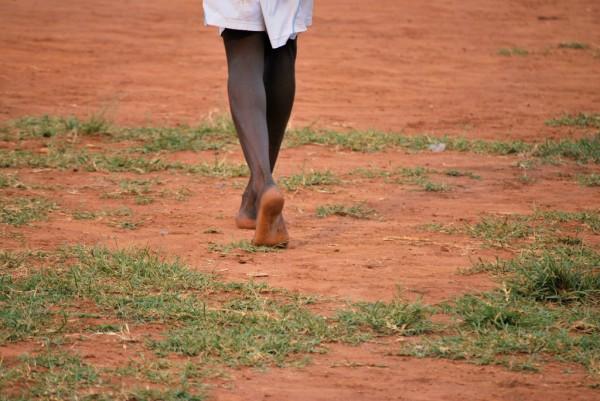 Fomba on barefoot in Sierra Leone