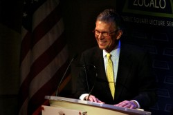 Tom Daschle at Zocalo