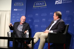 J. Craig Venter & Michael M. Crow
