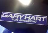 Gary Hart bumper sticker