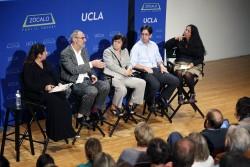 Jennifer Medina, Thom Mayne, Anastasia Loukaitou-Sideris, Bill Chait, Laurie Ochoa