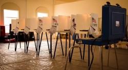 Voting booths Bev Harris piece