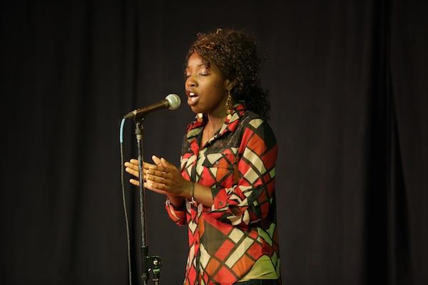 Gospel singer Janeisha McMillan