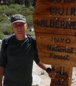 The author in the John Muir Wilderness. Photo courtesy of J.M. MacDonald.