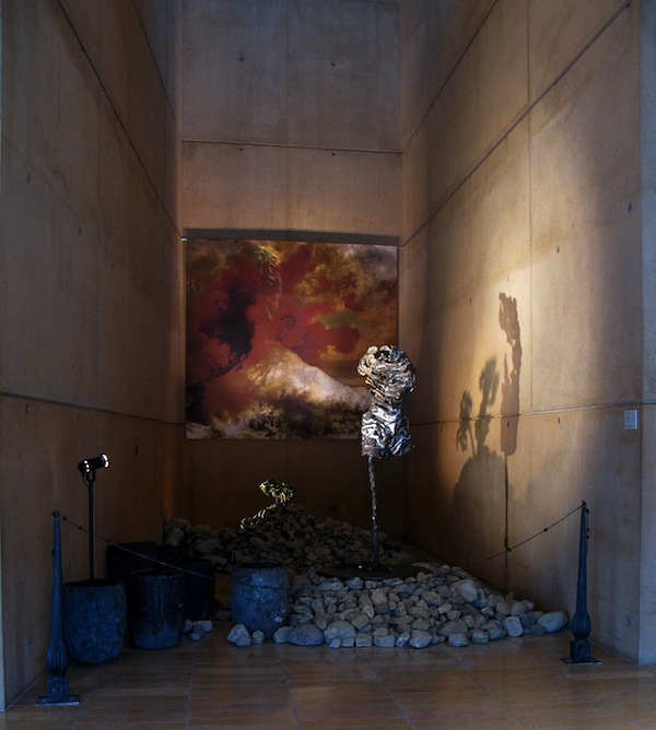 """Prometheus Chapel"" Simon Toparovsky, mixed media, 2014, Our Lady of the Angels Cathedral"