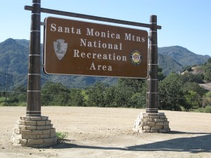 Entrance to the Santa Monica Mountains National Recreation Area. Photo courtesy of Glen MacDonald.