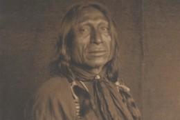Chief Iron Tail original portrait