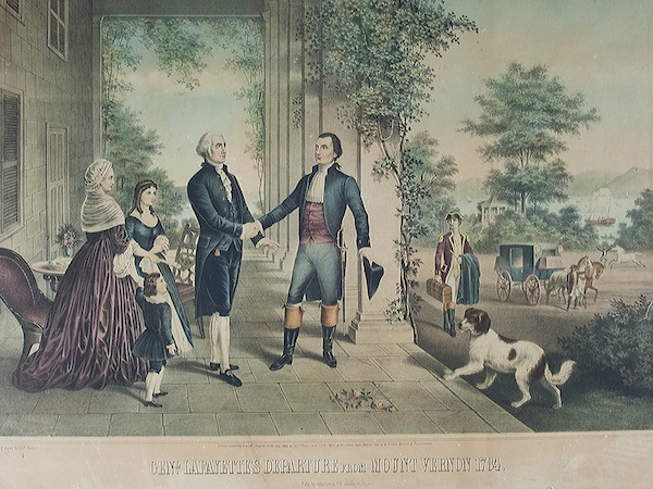 marquis de lafayette and george washington relationship