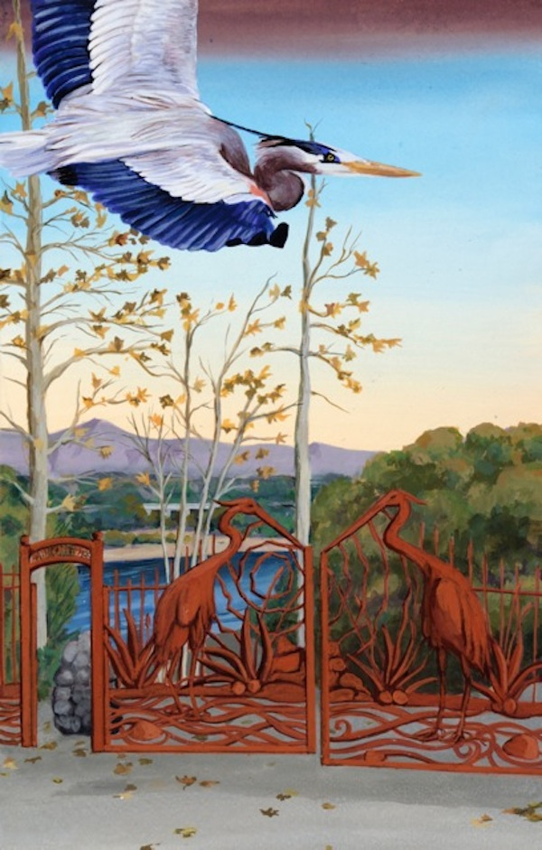 12. Great Heron Gates 300