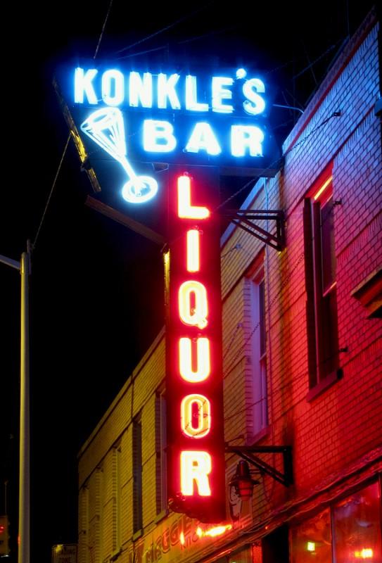 Konkle's Bar, 2009.