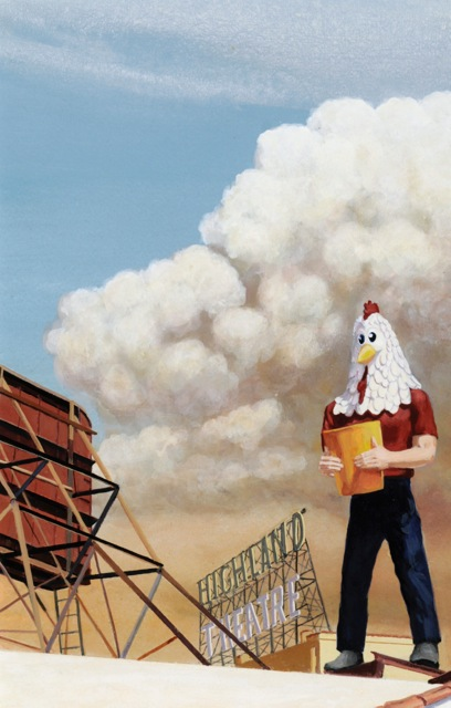Chicken Boy with the Pyrocumulus Cloud 2009