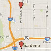 Map: Colorado Avenue to Washington Boulevard