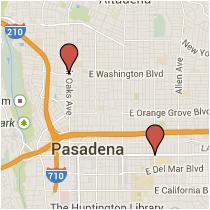 Map: Washington Blvd to Colorado Blvd