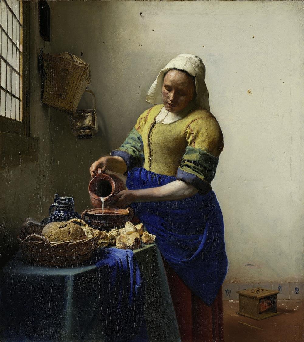 the milkmaid - vermeer