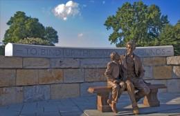 Lincoln statue in Richmond