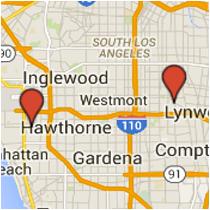 Map: Anzac Avenue to Nash Street