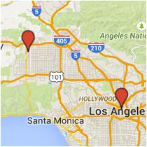 Map: Lassen Street to Alameda Street