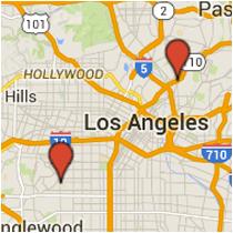 Map: 48th Street to Pasadena Avenue