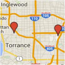 Map: Susana Road - Hawthorne Boulevard