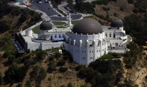The Griffith Observatory is seen in Los Angeles
