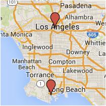 Map: Santa Cruz Street to Grand Avenue