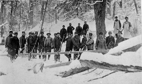 19th-century pipeline workers