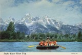 NMAH Archives Center Victor A. Blenkle Postcard Collection 200 Series 1: USA Box #15 Snake River Float Trip, ca. 1950