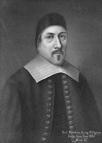 William Pynchon, founder of Springfield, Massachusetts