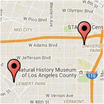 Map: Crenshaw Boulevard - Magnolia Avenue