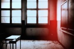 Santalucia classroom empty dark