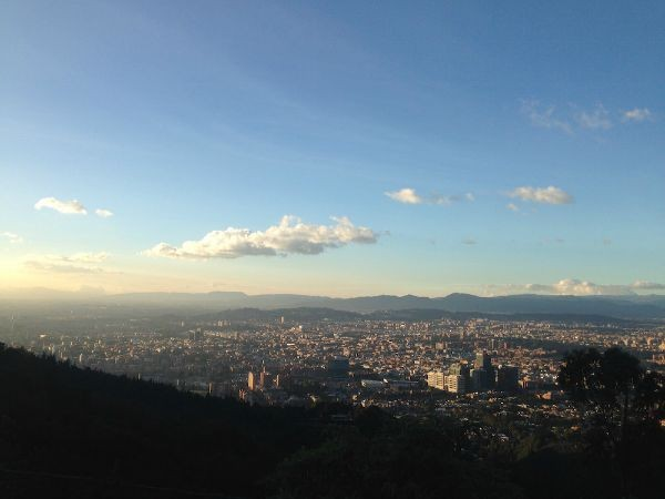 View of the city from La Calera