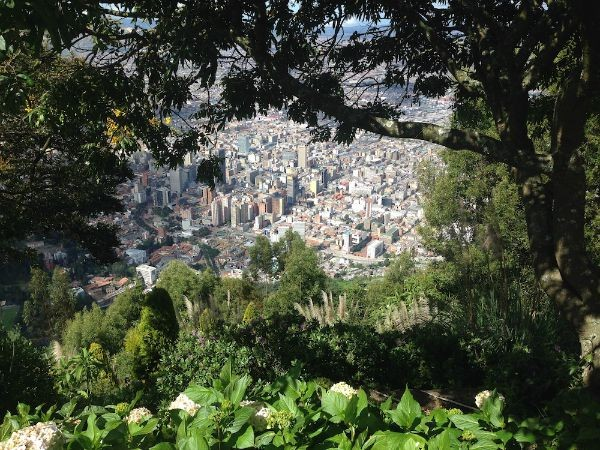 View of the city from Monserrate