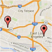 Map: Atlantic Boulevard - Euclid Avenue