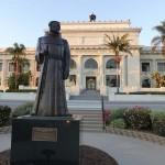 mathews junipero serra statue-2