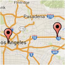 Map: Figueroa St to Ramona Blvd